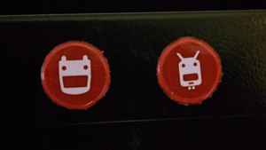 Robot Reflective Stickers